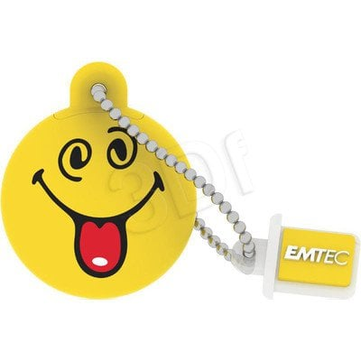 Emtec Flashdrive Smiley World 8GB USB 2.0 żółty