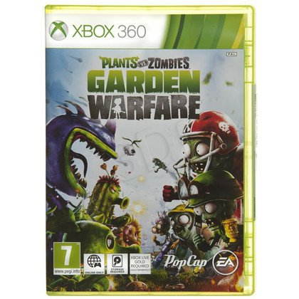 Gra XBOX 360 Plants vs Zombies Garden Warefare
