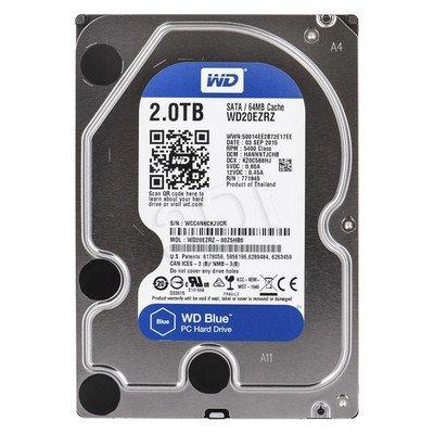 """Dysk HDD Western Digital BLUE 3,5"""" 2TB SATA III 64MB 5400obr/min WD20EZRZ"""
