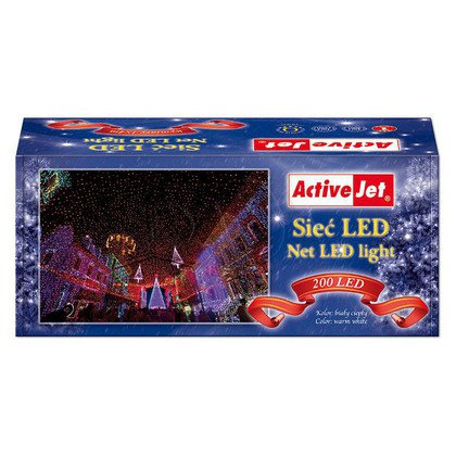 SIEĆ LED AJE-NET200/4M/WW/BLINK/MUL/IP44 (WYPRZ)