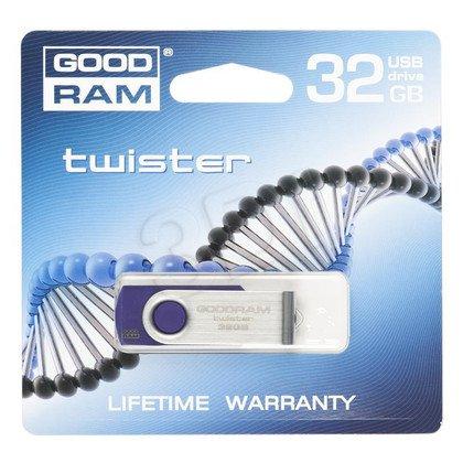 GOODDRIVE FLASHDRIVE 32GB USB 2.0 TWISTER Purple