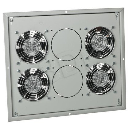 Triton panel wentylacyjny z termostatem RAC-CH-X04-X3 do szaf stojących (4x wentylator 230V/60W, sufitowo-podłogowy)