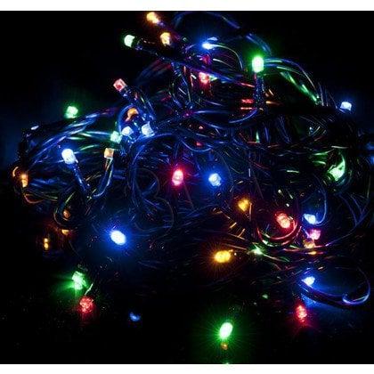 Lampki choinkowe 50LED AJE-CL505RGBO multi kol zew