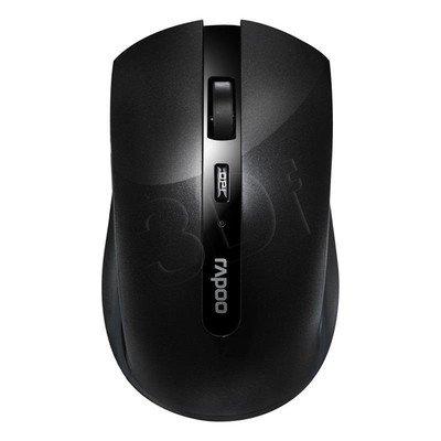 RAPOO Mysz bezprzewodowa optyczna 7200P 1000dpi czarna
