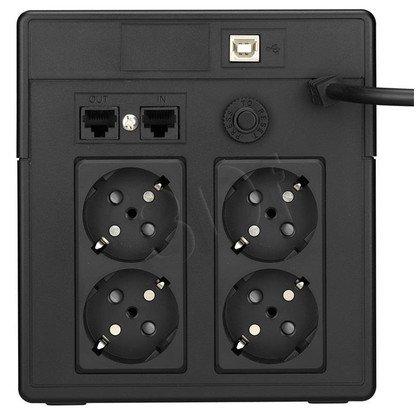 LESTAR UPS MCL-1200SSU 1200VA/720W AVR LCD 4XSCH USB RJ 45