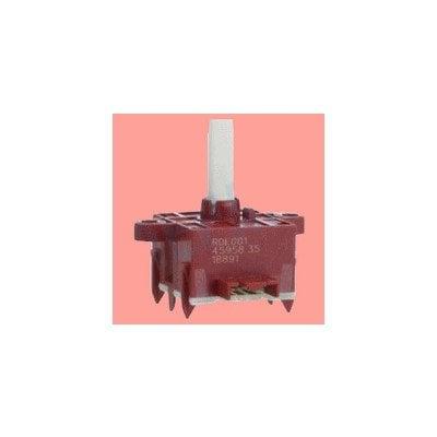 Przełącznik selekcyjny +/- zegara piekarnika Whirlpool (480121101146)