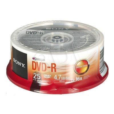 DVD-R Sony 25DMR47SP 4,7GB 16x