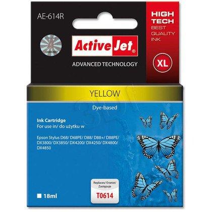 ActiveJet AE-614R (AER-614) tusz yellow do drukarki Epson (zamiennik T0614)