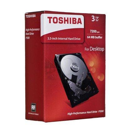 "Dysk HDD TOSHIBA P300 3,5"" 3TB SATA III 64MB 7200obr/min HDWD130EZSTA"