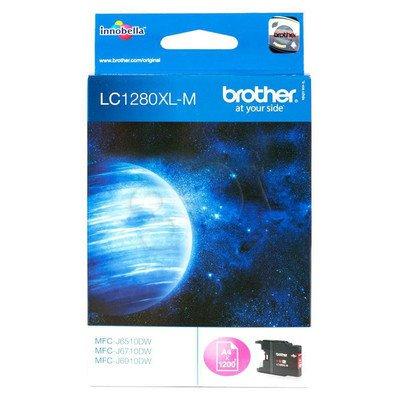 BROTHER Tusz Czerwony LC1280XLM=LC-1280XLM, 1200 str.