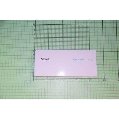 Osłona pojemnika na detergenty AWX612D (1040520)