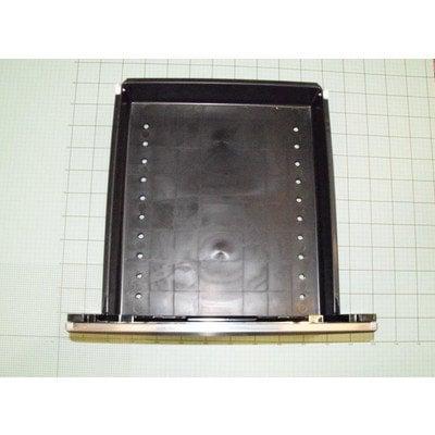 Zespół szuflady 53X nakładka 53S pojemnik z tworzywa czarny (9030668)