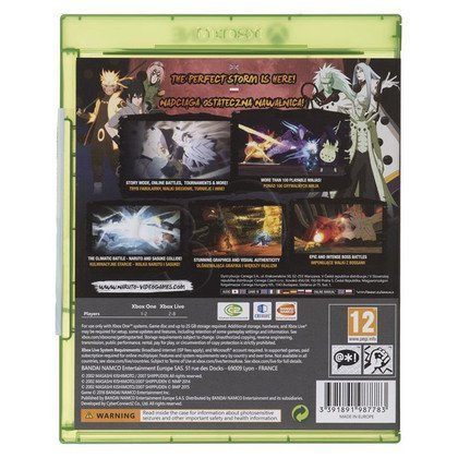 Gra Xbox ONE Naruto Shippuden:Ultimate Ninja Storm4