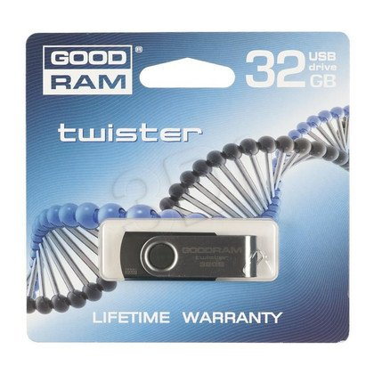 GOODDRIVE FLASHDRIVE 32GB USB 2.0 Twister RETAIL