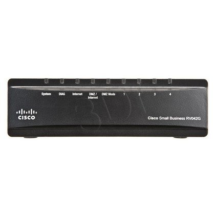 CISCO RV042G Router xDSL, 4xLAN, VPN Firewall/Gigab