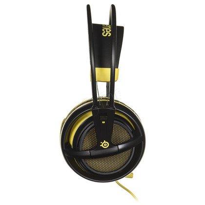 Słuchawki wokółuszne z mikrofonem Steelseries SIBERIA 200 (czarno-żółty)