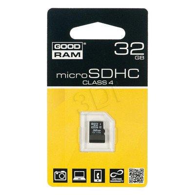 Goodram micro SDHC SDU32GHCGRR10 32GB Class 4