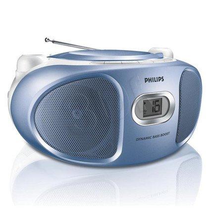 Boombox Philips AZ105N/12 Niebieski
