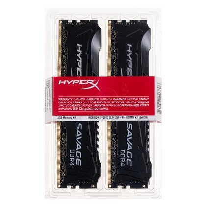 Kingston HyperX SAVAGE DDR4 DIMM 16GB 2800MT/s (2x8GB) HX428C14SBK2/16