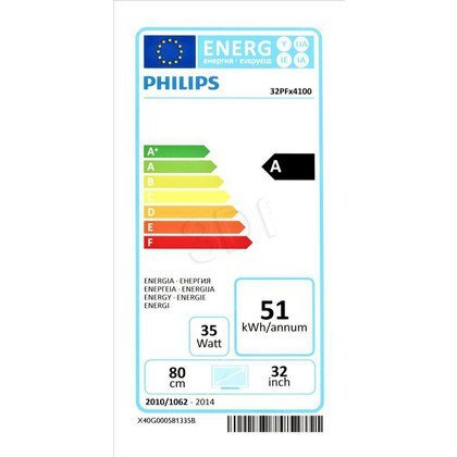 "TV 32"" LCD LED Philips (Tuner Cyfrowy 100Hz USB)"