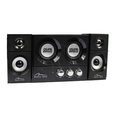 MEDIA-TECH GŁOŚNIKI 2.2 SOUNDRAVE DUAL BASS MT3329