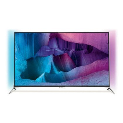"TV 49"" LCD LED Philips 49PUS7100/12 (Tuner Cyfrowy 800Hz Smart TV Tryb 3D USB LAN,WiFi)"