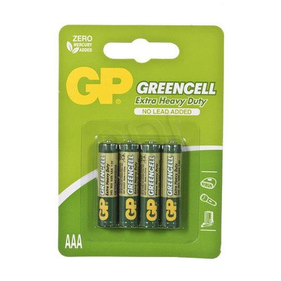 GP Bateria cynkowo- węglowa R03 blister 4szt.