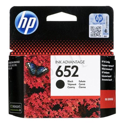 HP Tusz Czarny HP652=F6V25AE, 360 str.