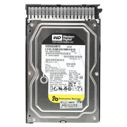 HP 500GB 6G SATA 7.2k 3.5in SC MDL HDD (Gen 8)