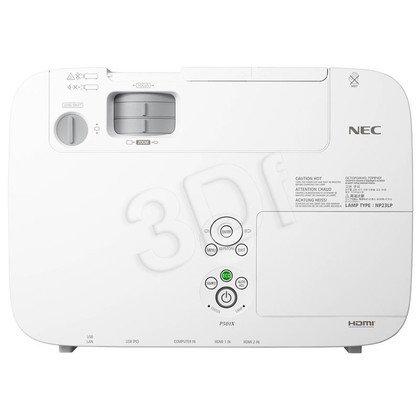 PROJEKTOR NEC P501X LCD XGA 5000 ANSI 4000:1 HDMI USB LAN
