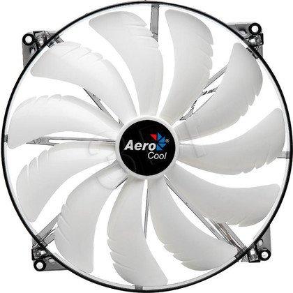 WENTYLATOR AEROCOOL MASTER WHITE LED - 200x200x20mm