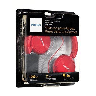Słuchawki nauszne Philips SHL3060RD/00 (Czerwony)