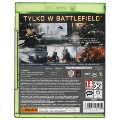 Gra Xbox ONE Battlefield 4