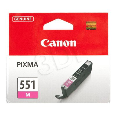 CANON Tusz Czerwony CLI-551M=CLI551M=6510B001, 300 str., 7 ml