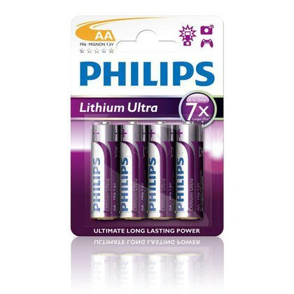 Bateria PHILIPS FR6LB4A/10 LITHIUM ULTRA 4szt. AA