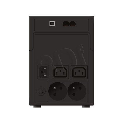 POWER WALKER UPS LINE-INTERACTIVE 1200VA 2X 230V PL + 2X IEC OUT, RJ11/RJ45 IN/OUT, USB, LCD