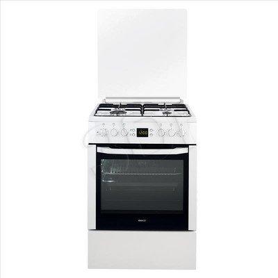 Kuchnia Beko CSM 62321 DW (Płyta Gazowa Piekarnik Elektryczny szer. 600mm Biały)