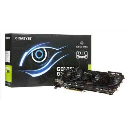 GIGABYTE GeForce GTX 980 4096MB DDR5/256bit DVI/HDMI PCI-E (1279/7000) (wer. OC - OverClock) (wentylator WindForce III)