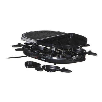 Grill elektryczny Tristar RA-2946 (1200W stołowy-otwarty z raclette, czarny)