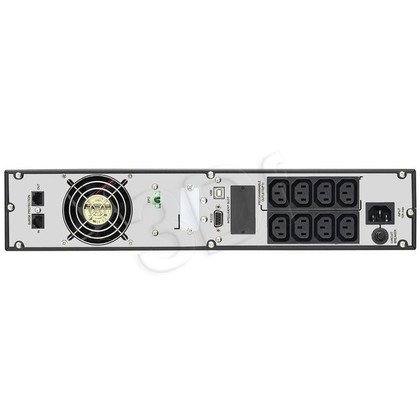 "POWER WALKER UPS ON-LINE 1500VA 8X IEC OUT, USB/RS-232, LCD RACK 19""/TOWER"