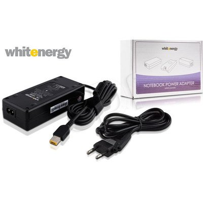 WHITENERGY ZASILACZ AC DO LAPTOPA LENOVO 20V 4.5A WTYK: 11X4.5X0.6 MM