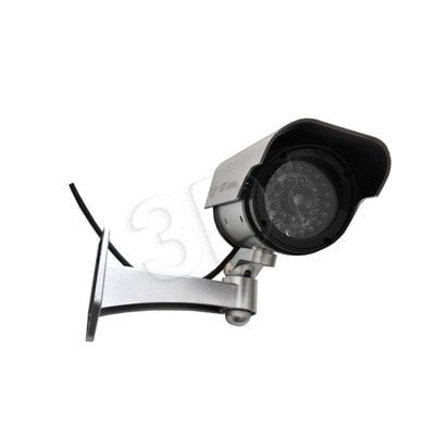 Atrapa kamery tubowej IR1100 S (srebrna)