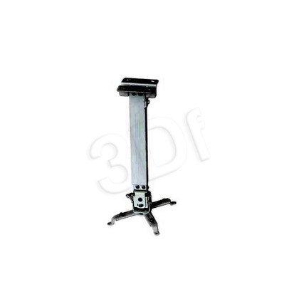 UCHWYT SUFITOWY DO PROJEKTORA Tapa 430-650mm BLACK