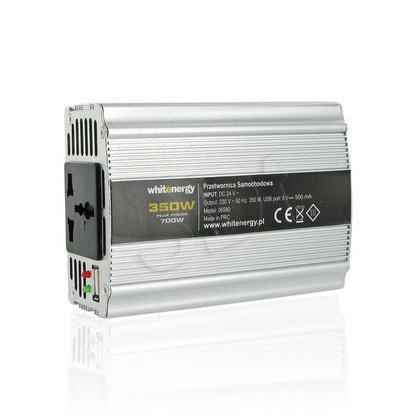 PRZETWORNICA SAMOCHODOWA DC 24V-AC 230V 350W Z USB