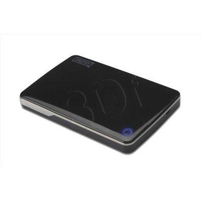 """DIGITUS OBUDOWA ZEWNĘTRZNA SSD/HDD 2.5"""" SATA DO USB2.0, CZARNA DA-71002"""
