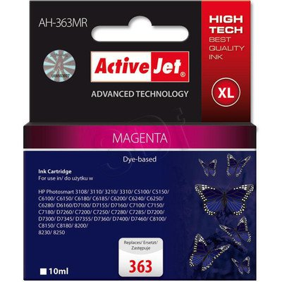 ActiveJet AH-363MR (AH-772) tusz magenta do drukarki HP (zamiennik HP 363 C8772EE)