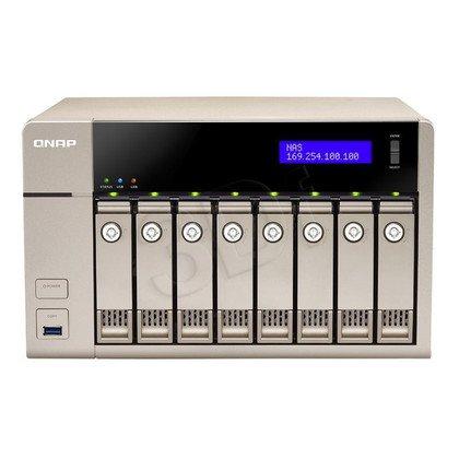 QNAP serwer NAS TVS-863-4G Tower
