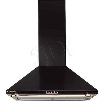 Okap kominowy ELECTROLUX EFC 640 R (Czarny/ wydajność 410m)