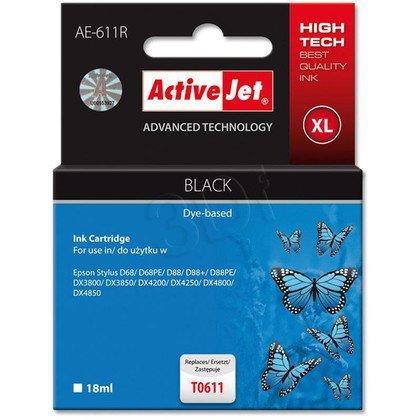 ActiveJet AE-611R (AER-611) tusz czarny do drukarki Epson (zamiennik T0611)