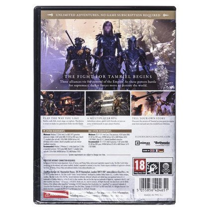 Gra PC THE ELDER SCROLLS ONLINE: TAMRIEL UNLIMITED